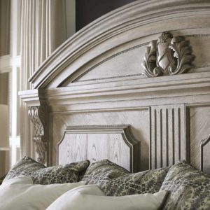 Acanthus Headboard closeup