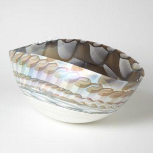 Ivory Amber Bowl Large
