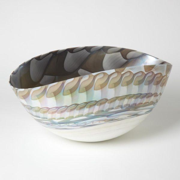 Ivory Amber Bowl small