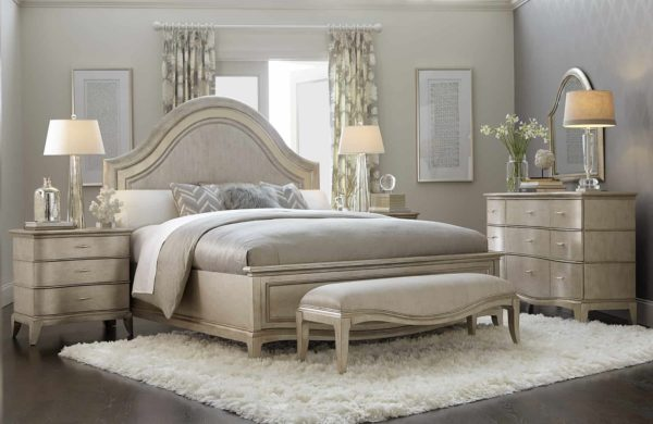 Aged Silver Starlight bed