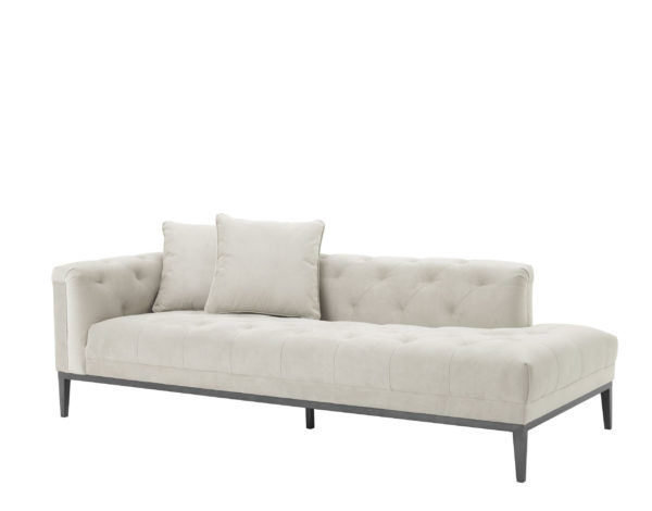 Embroidered Stitch Lounge sofa left facing