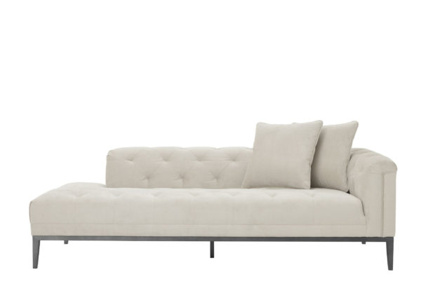 Embroidered Stitch Lounge Sofa right facing