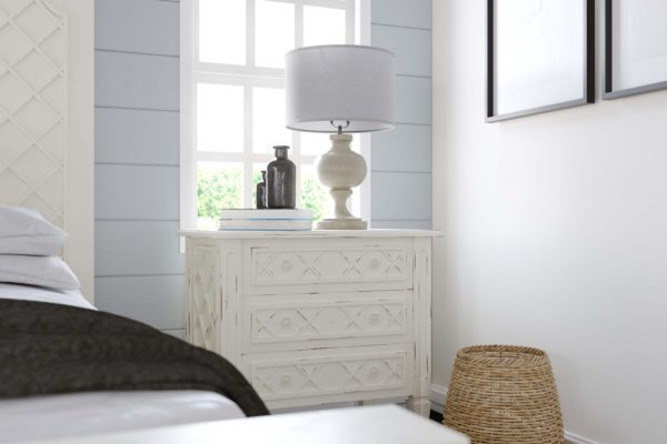 Cottage Check side chest set