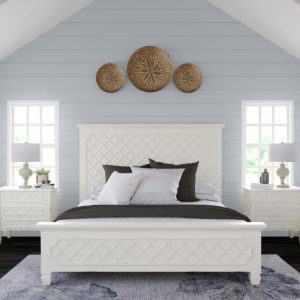 Cottage Check Bed set