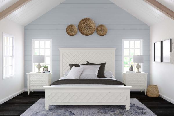 Cottage Check Bed set