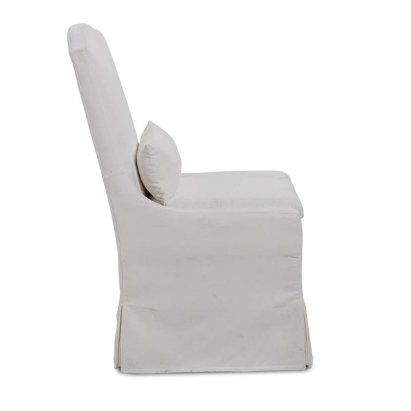 Peyton Pearl chair side view