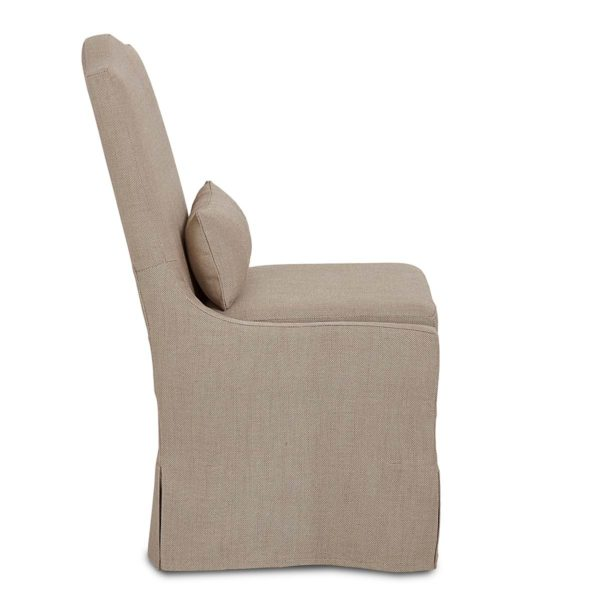Pebble chair side view