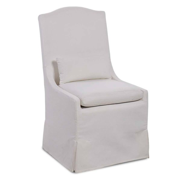 Peyton Pearl dining chair front view