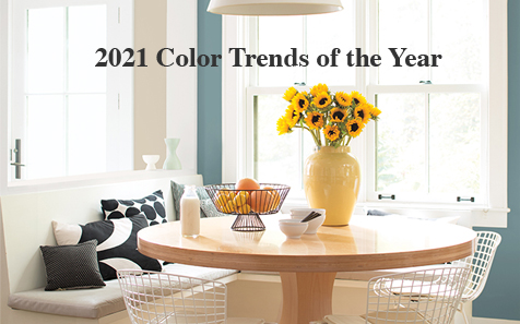 2021 color trends of the year