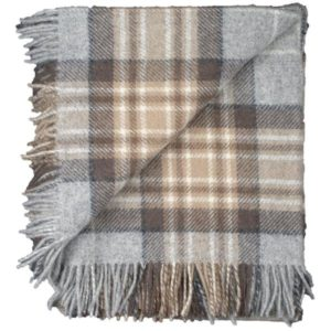 Tartan Tweed folded flip winter