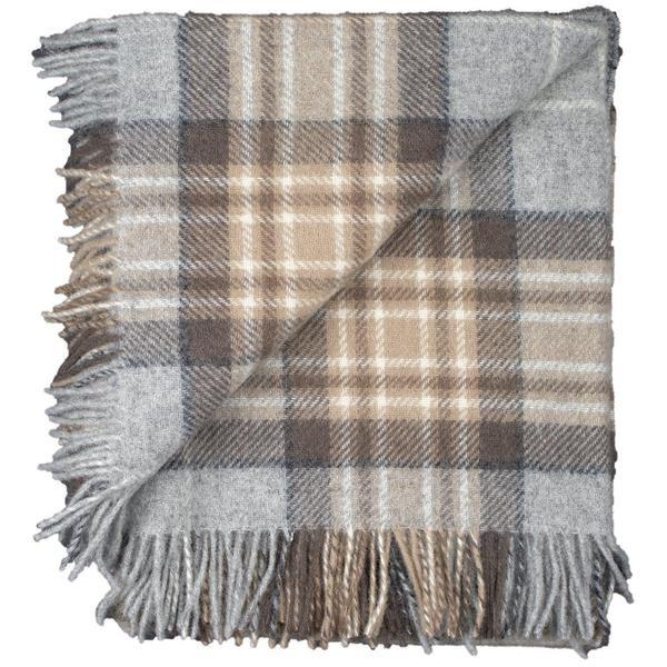 Tartan Tweed folded flip winter