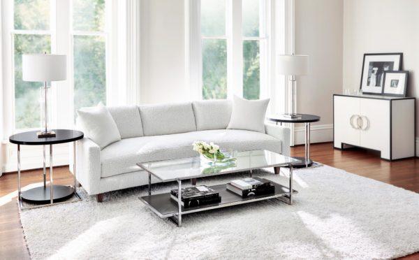 Ivory Bench Sofa lifestyle