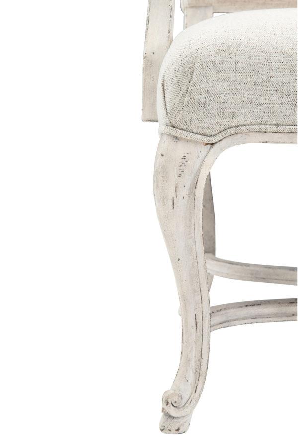 Mirabella Dining arm Chair leg closeup