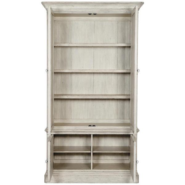 Mirabella storage cabinet open front view