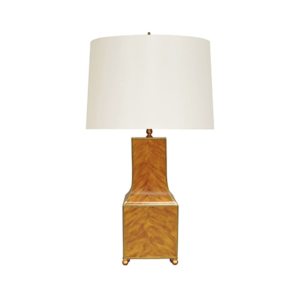 Pagoda Tabletop Lamp in Tortoiseshell single image