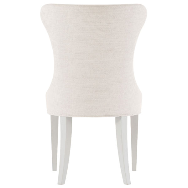 Silhouettte chair ivory backside