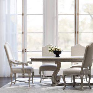 Mirabella side & arm chair set