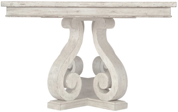 Mirabella Dining table end view