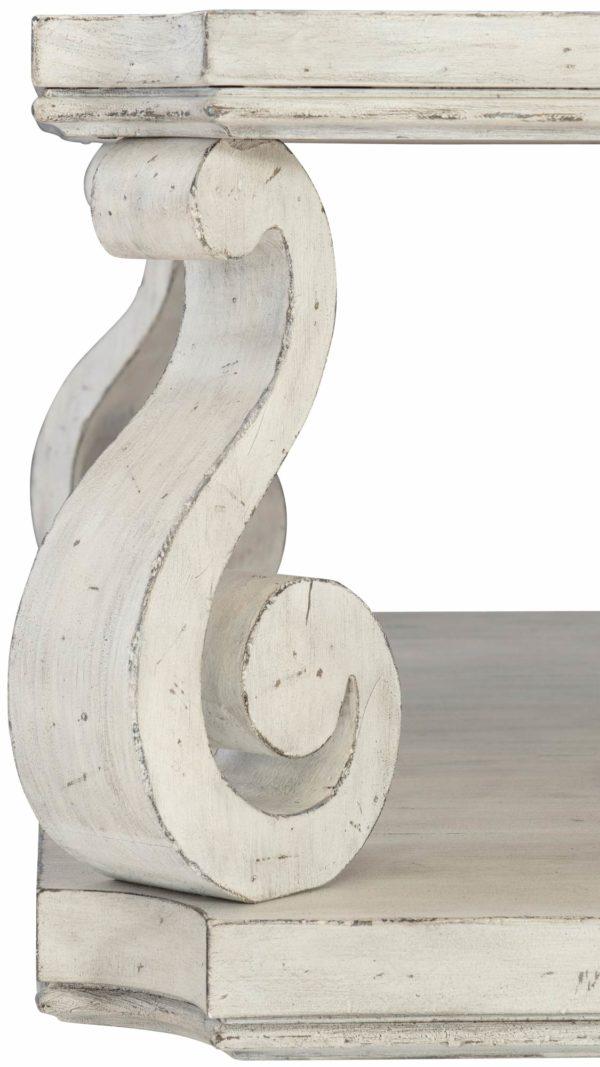 Mirabella scroll leg detail