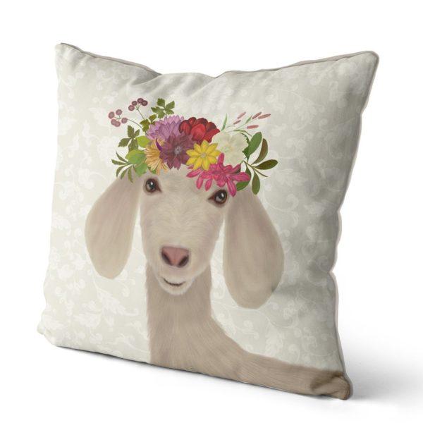 Bohemia Goat Pillow sideview